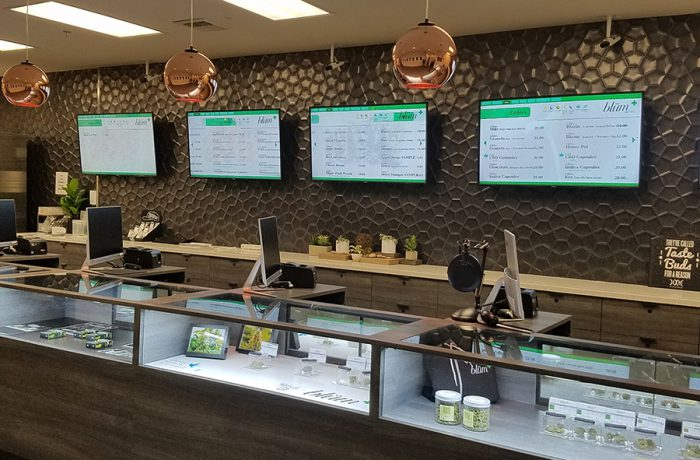 Dispensary Automated Menus