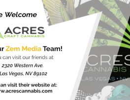 Welcome Acres Craft Cannabis to Our Zem Media Team!